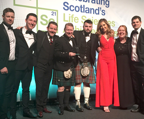 Scottish Life Sciences Award Winners 2019!